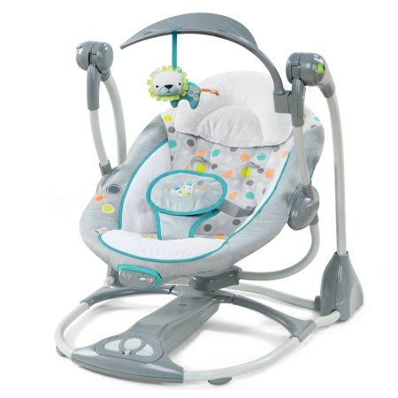 bouncy seat swing combo ingenuity ridgedale collection playard swing high chair
