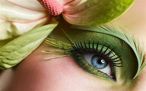 wallpaper of green eyes fish makeup eye hd wallpapers hd wallpapers pics