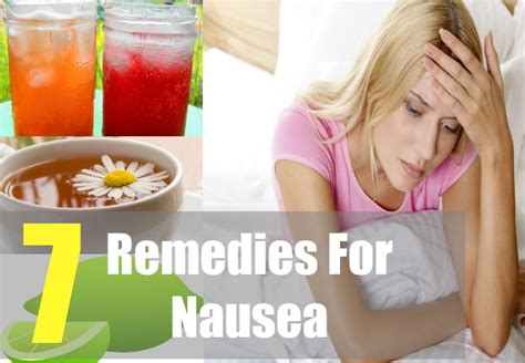 7 Home Remedies For Nausea by How To Treat Nausea 7 Home Remedies For Nausea Causes