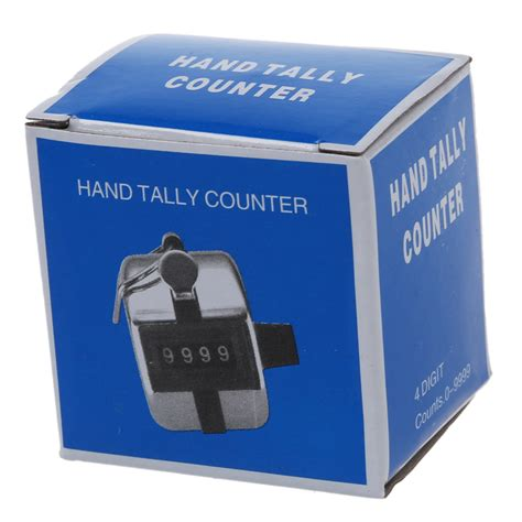 Tally Counter Stainless 4x metal held tally counter counters 4 digit palm