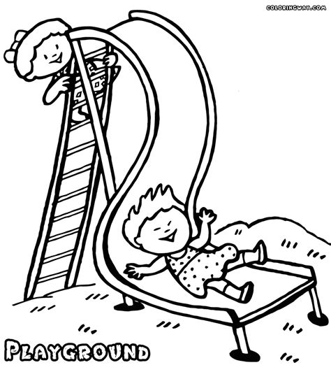 playground coloring pages coloring pages to download and