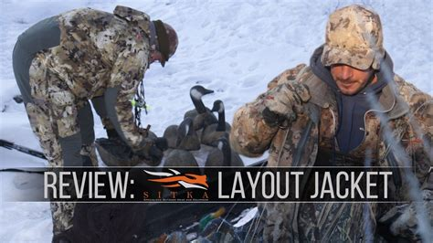 layout jacket sitka sitka s layout jacket gear review for the hardcore