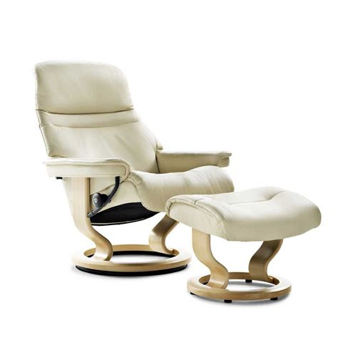 Stressless By Ekornes Stressless Recliners 1238015 Large Stressless Ottoman Price
