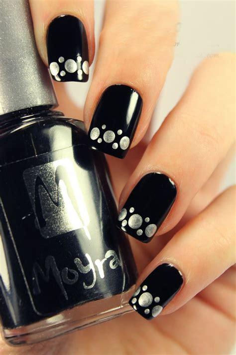 black nail art designs grey nail arts arts