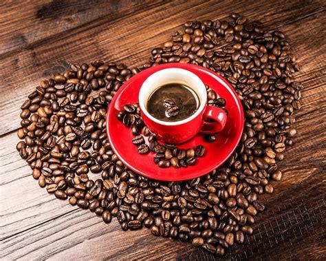 coffee wallpaper red download wallpaper 1280x1024 coffee beans grains heart