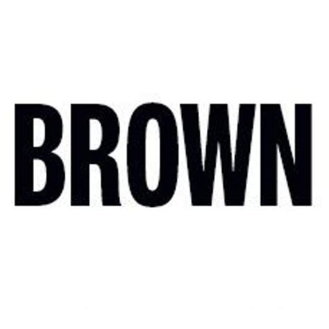 The Brown by The Brown Institute Browninstitute