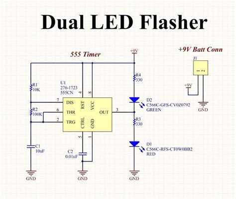 blinking led circuit diagram 28 wiring diagram images