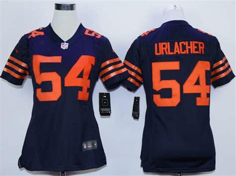 youth blue brian urlacher 54 jersey attract p 579 new nike bears 54 brian urlacher blue orange number