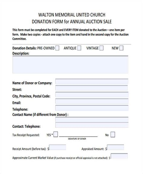 church contribution receipt template 11 donation receipt form sle free sle exle