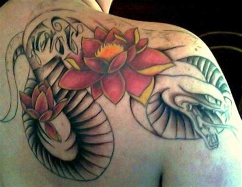 tattoo lotus dragon 65 lotus flower tattoo designs that is full of meanings