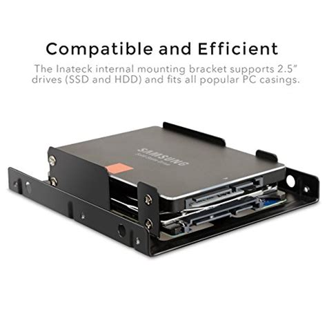 Bracket Ssd 2 5 By Data inateck 2x 2 5 inch ssd to 3 5 inch disk