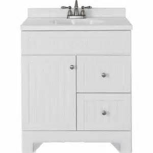 Lowes Ellenbee Vanity 30 Lowes Deal Style Selections 31 In Ellenbee White
