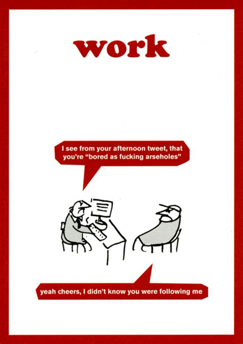 Modern Toss Birthday Cards Funny Cards About Work Humorous Range Of Greeting Cards