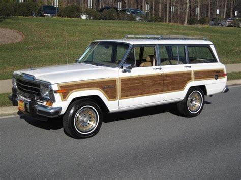 1988 Jeep Grand Wagoneer 1988 Jeep Grand Wagoneer 1988 Jeep Grand Wagoneer For