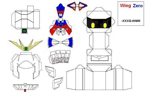 Gundam Wing Zero Papercraft - gundam wing zero by wounami on deviantart