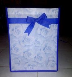 Eco Bag Spunbond Press Souvenir Tas Murah produksi aneka tas