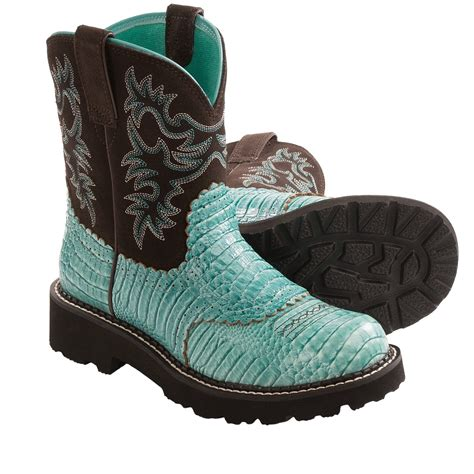 gator boots for ariat fatbaby gator print cowboy boots for 8982r