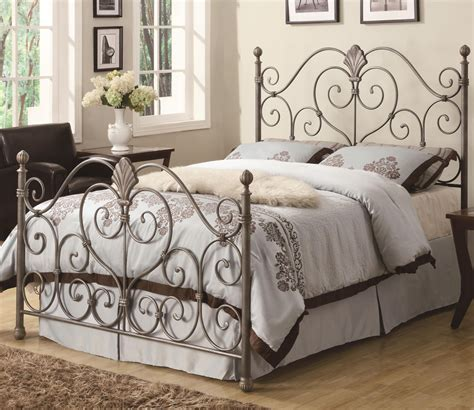 Metal Bed Frame With Headboard by Metal Bed Headboards King Size Headboard Ideas Used With