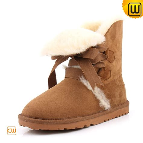 s shearling lined snow boots cw314416