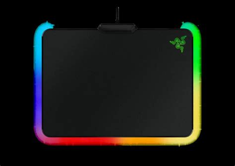 Mousepad Gaming Pro Gamer Da 400mmx450mmx4mm razer s firefly is an led enabled mousepad seriously pcworld