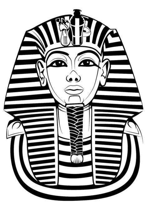 coloring pages king tut coloring page tutankhamun vymaľovanky pinterest