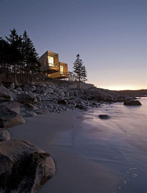 Landscape Architecture Halifax Two Hulls House In Scotia Canada By Mackay Lyons