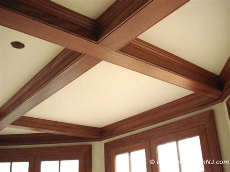 Coffered Ceiling Beams Coffered Ceilings And Beams Traditional Kitchen By