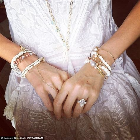 Which appears to show her wearing a wedding dress on christmas eve