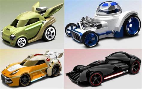 mattel reveals wheels star wars character cars future star wars