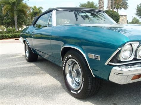 teal blue car seller of classic cars 1968 chevrolet chevelle teal