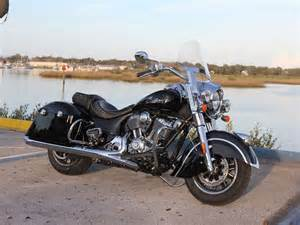 2016 Indian Springfield First Ride Review Motorcycle