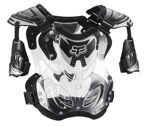 fox motocross body armour fox racing r3 roost deflector guard chest protector large