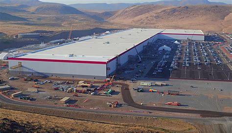 tesla factory tesla gigafactory in nevada tops 1 3 billion in