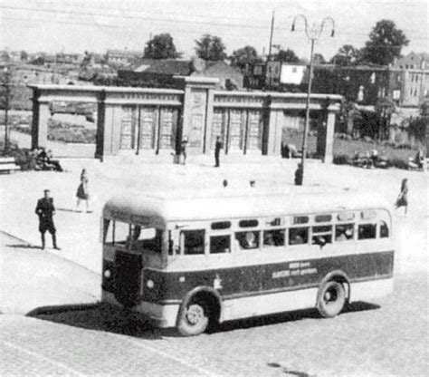 1950s Ls by Buses Kauno Autobuså Gamykla Kag Kaunas Lithuanian Ussr â Myn Transport