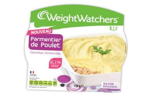 plats cuisin駸 weight watchers parmentier weight watchers