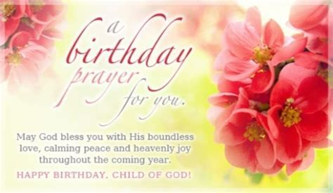 Birthday Prayers   Share Beautiful Blessings!