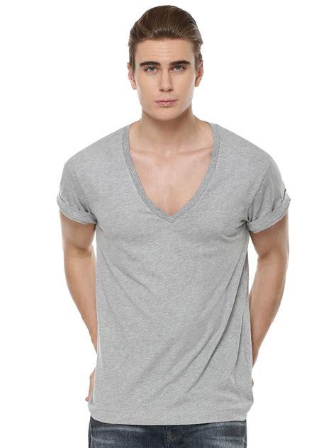 V Neck Expression Tshirt buy v neck t shirt for s grey t shirts in india