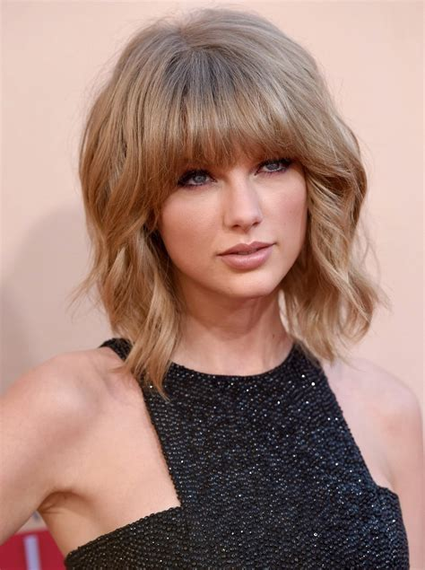 short cut with chinese bang more pics of taylor swift short cut with bangs 3 of 8