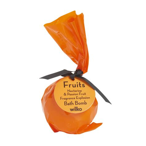 fruit bath wilko fruits nectarine and passionfruit bath bomb at wilko