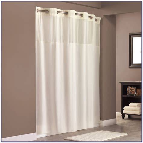 longer shower curtain hookless shower curtains extra long curtain home