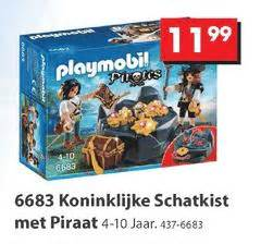 roeiboot intertoys playmobil piraten folder aanbieding bij intertoys details