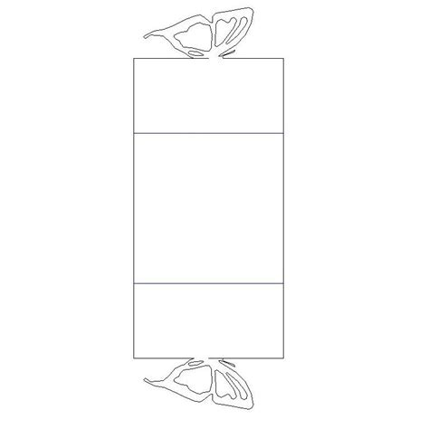 Diy Closing Butterfly Card Is It For Parties Is It Butterfly Box Template