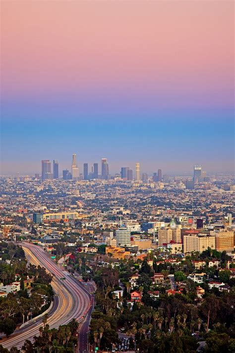 Los Angeles California Search Pastel Sky In Los Angeles California