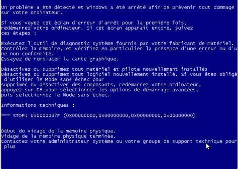 mobile per pc e stante ecran bleu windows