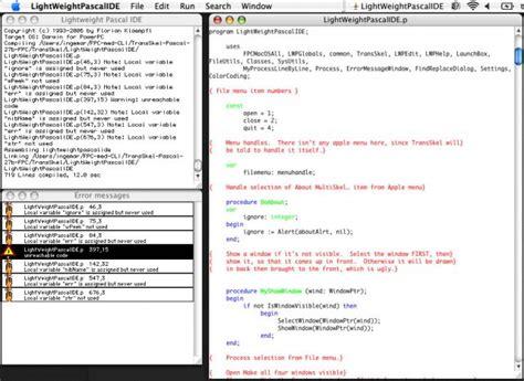 tutorial glscene delphi pascal game development a lightweight ide for mac os x