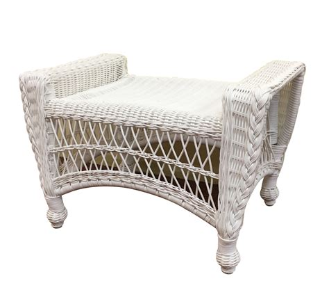 Wicker Ottoman Outdoor Wicker Ottoman Cape Cod