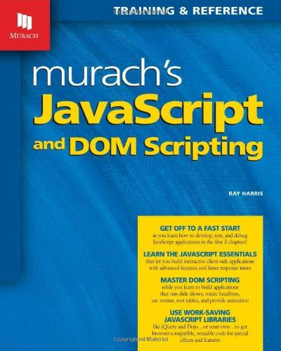 reference book for javascript ebook murach s javascript and dom scripting murach