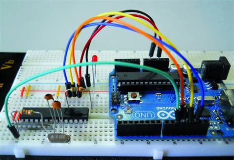 arduino isp  system programming  stand