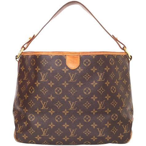 louis vuitton monogram delightful hobo bag  sale  stdibs