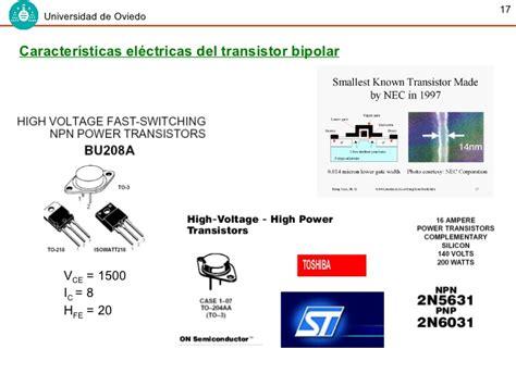 transistor bipolar conclusiones transistor bipolar conclusiones 28 images transistor bjt y polarizacion tema 2 dispositivos